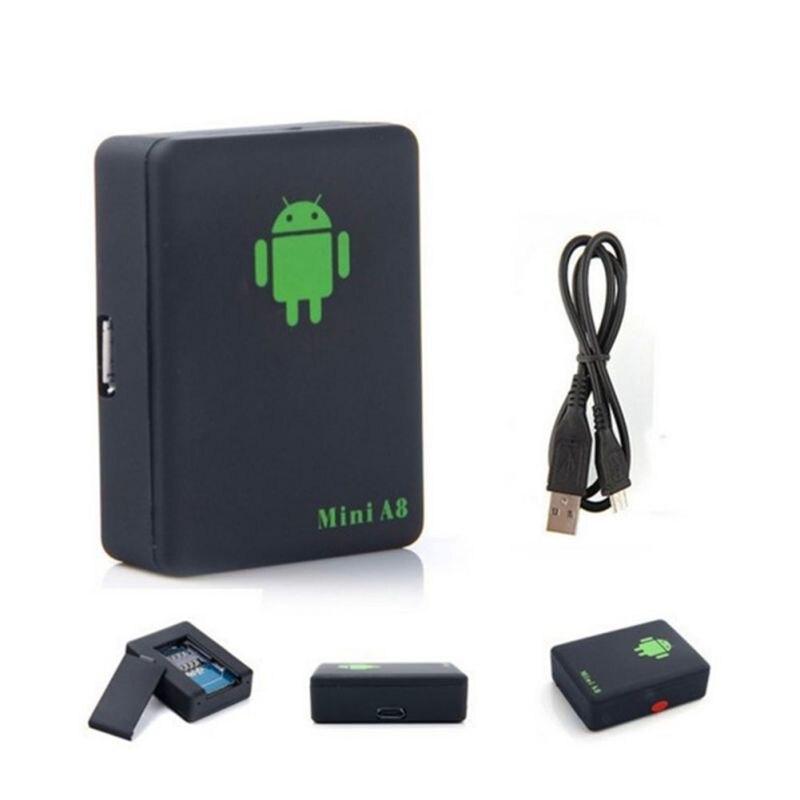 Mini GPS Tracker Car GPS Locator Tracker Car GPS Tracker Anti-Lost Recording Tracking Device Voice Control