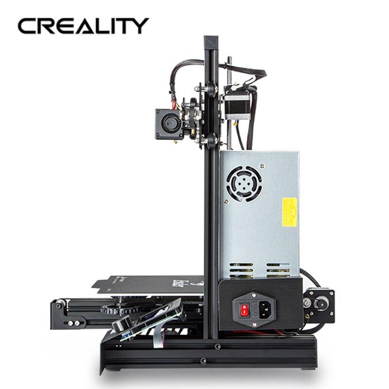 Original CREALITY 3D impresora Ender 3 o Ender 3 PRO, KIT de bricolaje, MeanWell fuente de alimentación/1,75mm PLA, ABS, PETG - 4