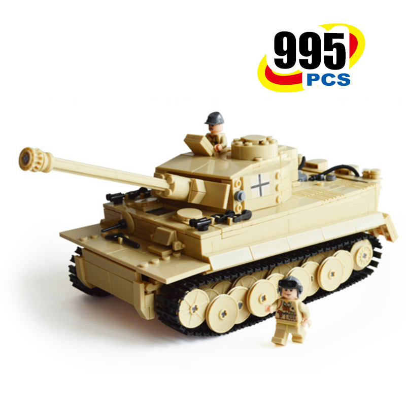 995pcs Military Building Blocks Army Tank Model Toys Compatible Legos City Wars Enlighten Block Eductional Toy For Children Gift 128pcs military field legion army tank educational bricks kids building blocks toys for boys children enlighten gift k2680 23030