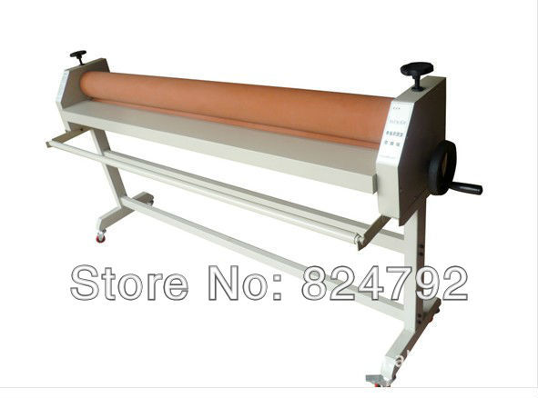 """Free Shipping Send from Canada New Fire 51""""(1300mm) Manul Cold Laminating Machine Laminator Office Equipment"""