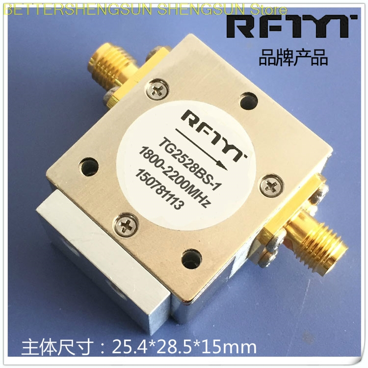 1800-2200MHz coaxial ferrite microwave communication RF isolator RFTYT 2000MHz1800-2200MHz coaxial ferrite microwave communication RF isolator RFTYT 2000MHz