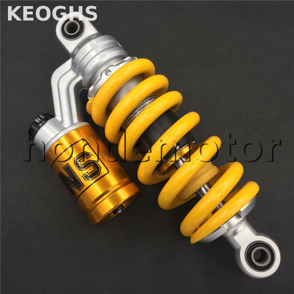 Keoghs Motorcycle Rear Shock Absorber Single Gas Shock 245mm For Monkey Motorbike Dirt Bike Honda Yamaha Kawasaki Suzuki Modify 320mm motorcycle fork rear nitrogen shock absorber for bws100 bws125 rd250 350 pit atv scooter motorbike colorful
