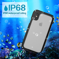 Haissky Waterproof Case Universal IP68 For IPhone 8 Iphone X Swimming Underwater Diving Cover For IPhone