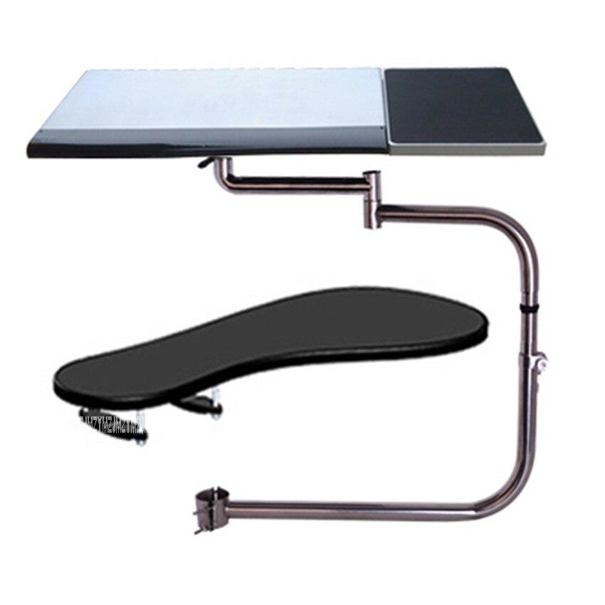 OK-010 multifonctionnel mouvement complet chaise de serrage clavier titulaire Lapdesk + carré tapis de souris + chaise bras de serrage XL taille tapis de souris