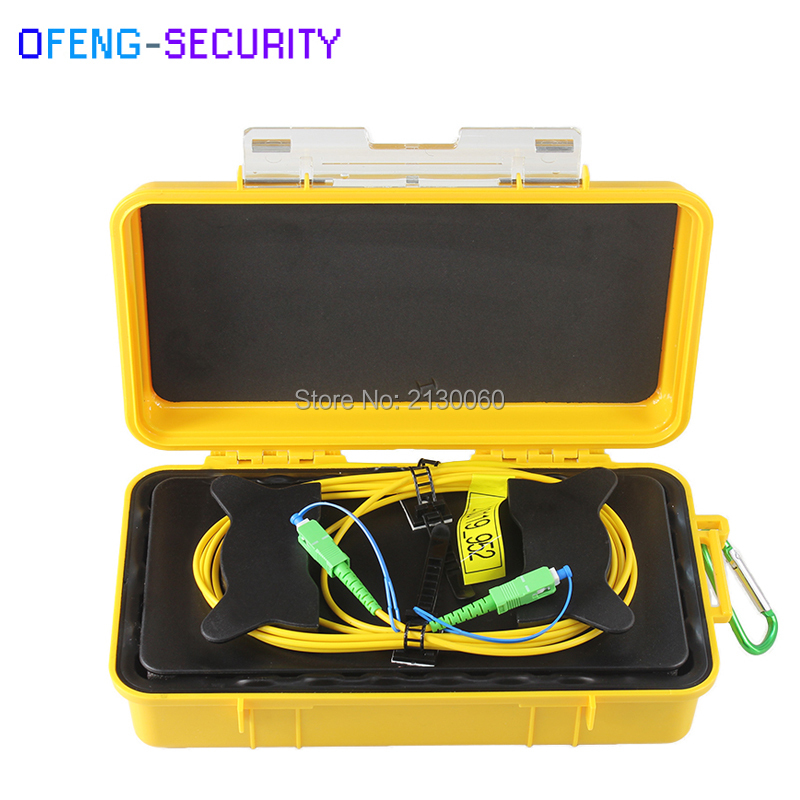 SC-APC Fiber Optic OTDR Launch Cable Box 1km SM 1310/1550nm Single Mode Launch Cable Box