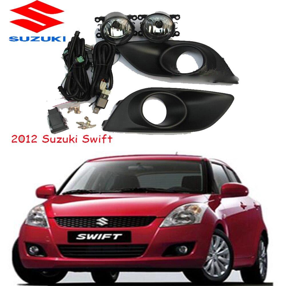 2012 Swift fog light Free ship halogen 4300K Swift headlight Ciaz Reno kizashi s cross samurai