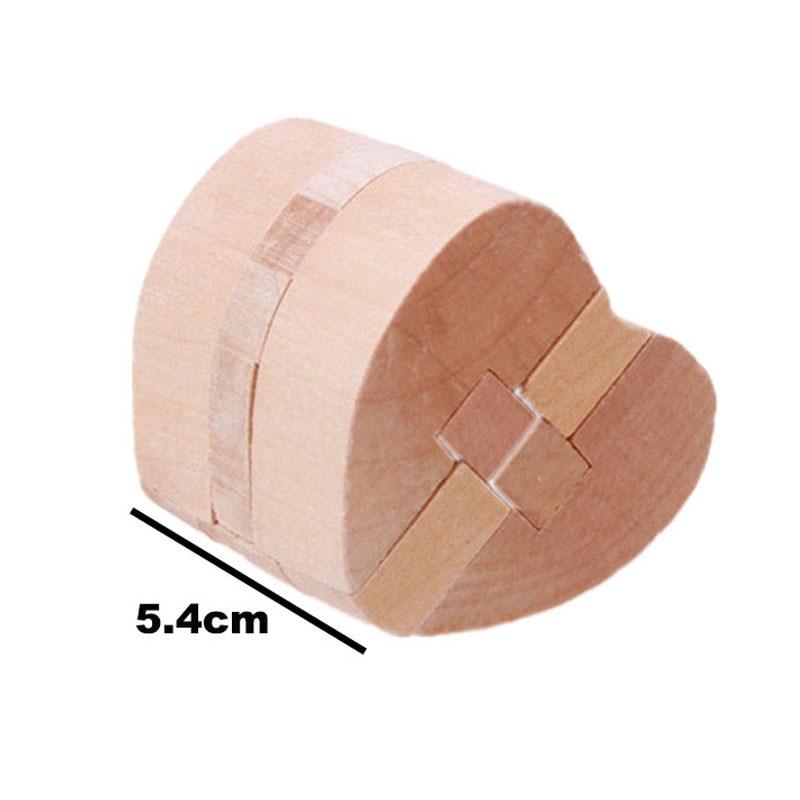 3D trä pussel Luban Lås Pussel Spel Leksaker För Barn Vuxna Barn - Spel och pussel - Foto 4