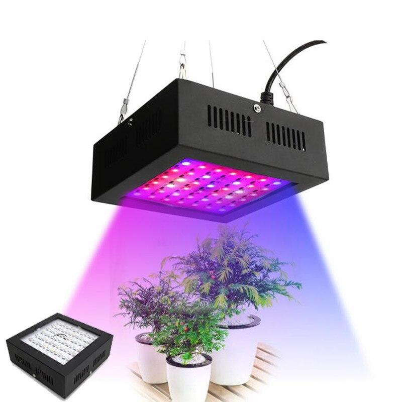 42 LED plante panneau de fleurs poussent lumière spectre complet lampe de croissance éclairage pour jardin intérieur vert maison graines Veg tente boîte hydro
