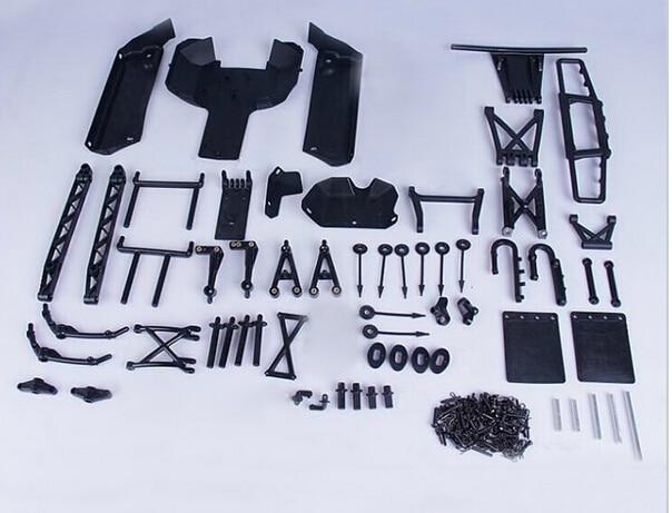 Baja 5b to 5sc conversion kit for 1/5 hpi rovan km baja 5sc rc car parts 1 5 rc car car shell kit fit hpi rovan baja ft parts