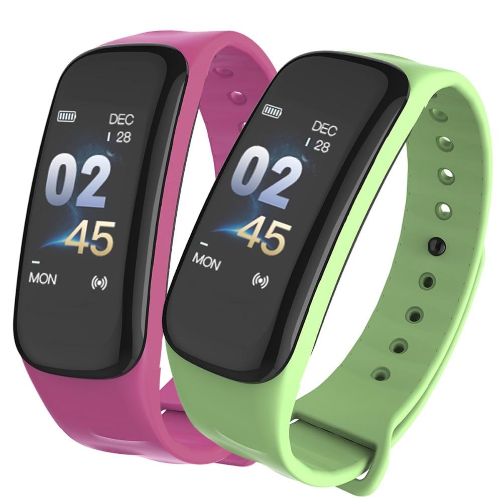 Fitness Traker Elegant Ladies Smart Watch Women Men Bluetooth Pedometer Heart Rate Monitor Sports Intelligent Watch For Running цена 2017