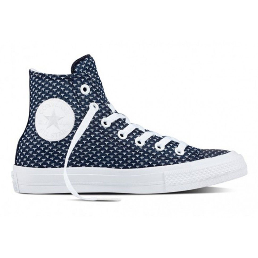 Walking Shoes CONVERSE Chuck Taylor All Star II 155457 sneakers for female TmallFS kedsFS rock style skull never give up original design skateboarding shoes man woman s converse all star high top black canvas sneakers