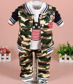 clearance new 2015 cartoon baby boy clothing set camouflage baby boy clothing mickey boys clothes children's costumes boy suit