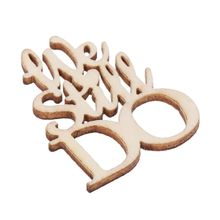 15Pcs Wooden We Still DO Table Confetti Scatter Vintage Rustic Wedding Party Decor Craft Scrapbook Decorations