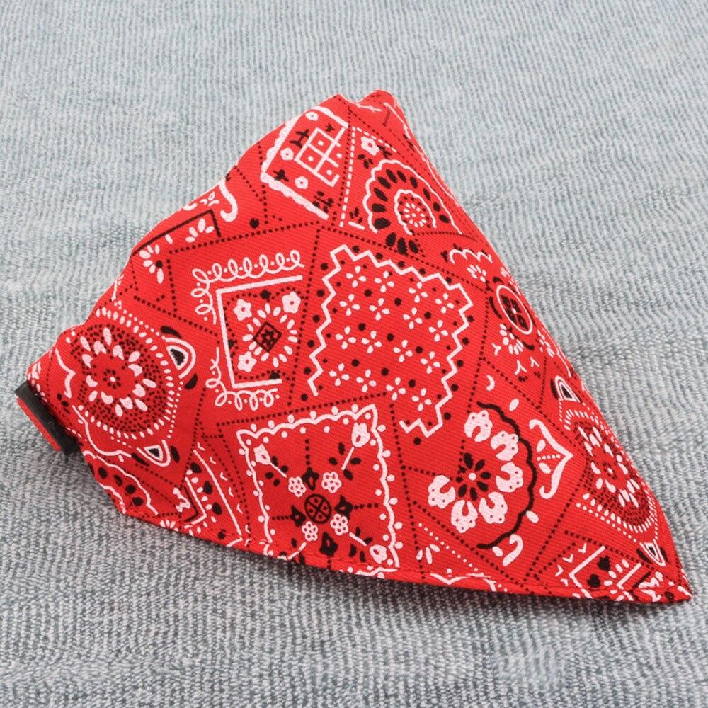 cute dog bandanas red