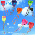 Octopus Kite Single Line Stunt Software Power Kites With Flying Tools Inflatable & Easy To Fly Kites Outdoors Toy LIGHTALING