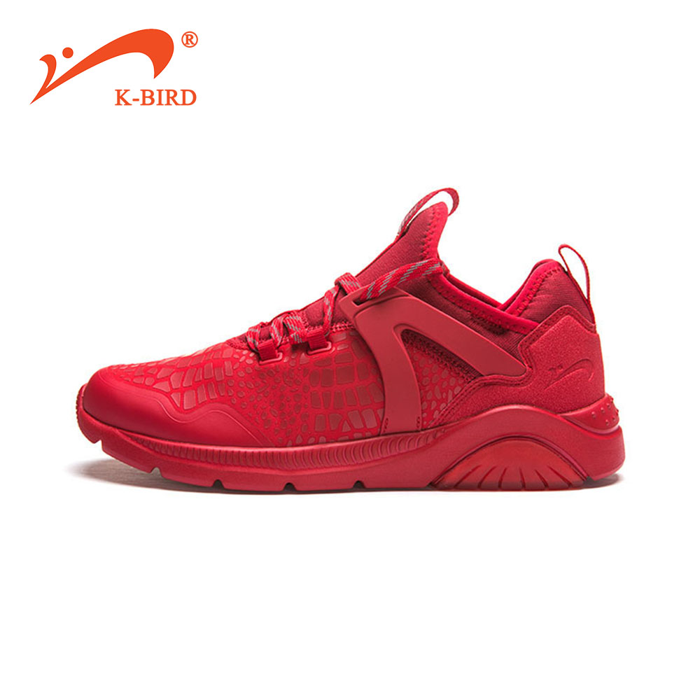 Breathable Running Shoes For Man Black White Sport Shoes Men Sneakers Zapatos corrientes de verano Red chaussure homme de marque