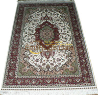 Wool Or Silk Persian Large Vintage Style Home Decore For Living Room Pattern Wool Knitting Carpets Museum Carpet