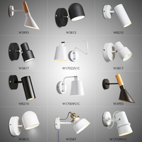 Nordic modern simple bedroom bedside reading LED wall lamp bathroom headlamp