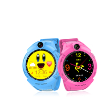 Promotional lovely gift camea smart  gps kids watch