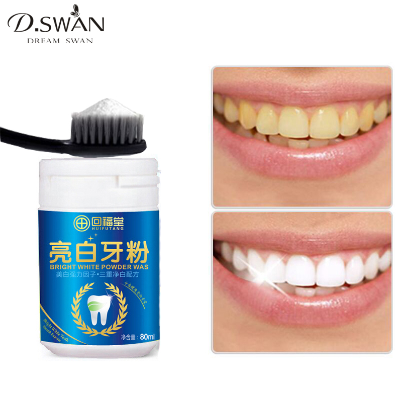 Magic Natural Pearl Tooth Brushing Powder Physical Teeth Whitener Detoxifying & Whitening Oralh Dental Oral Hygiene 80g