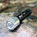 Фонарик YUPARD для ныряния  водонепроницаемый  60 м  белый  желтый  светодиодный  подводный  аккумулятор 18650 + зарядное устройство