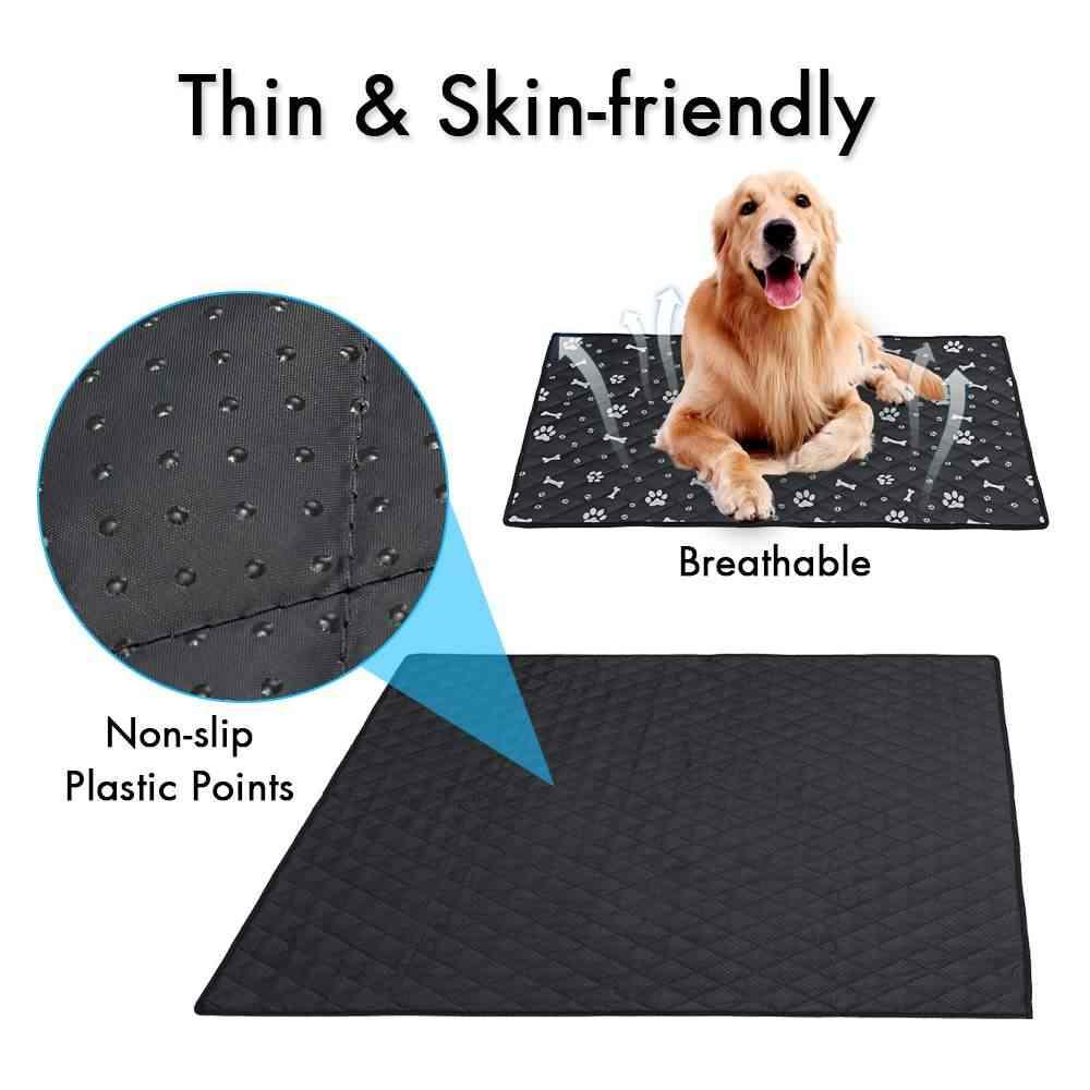 S/M/L/XL ペット冷却マット肌寒いパッド冷却ペット犬屋内夏クール繊維ベッド