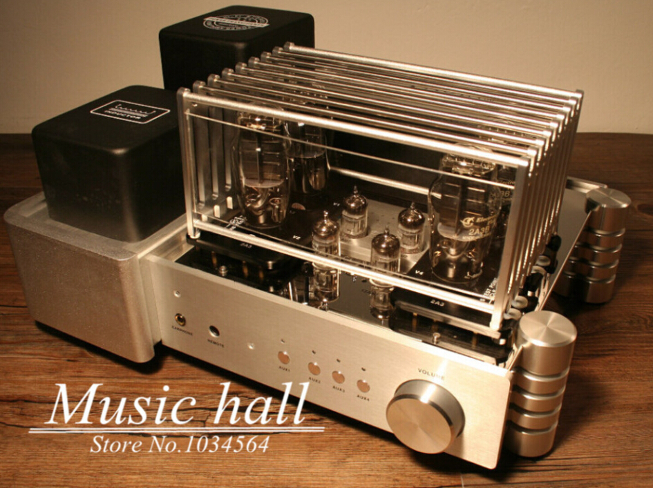 YAQIN King 2A3 MS-2A3 Vacuum Tube Hi-end pure Class A push-pull Tube Integrated Power Amplifier PUS power audio stereo hp q7551a black