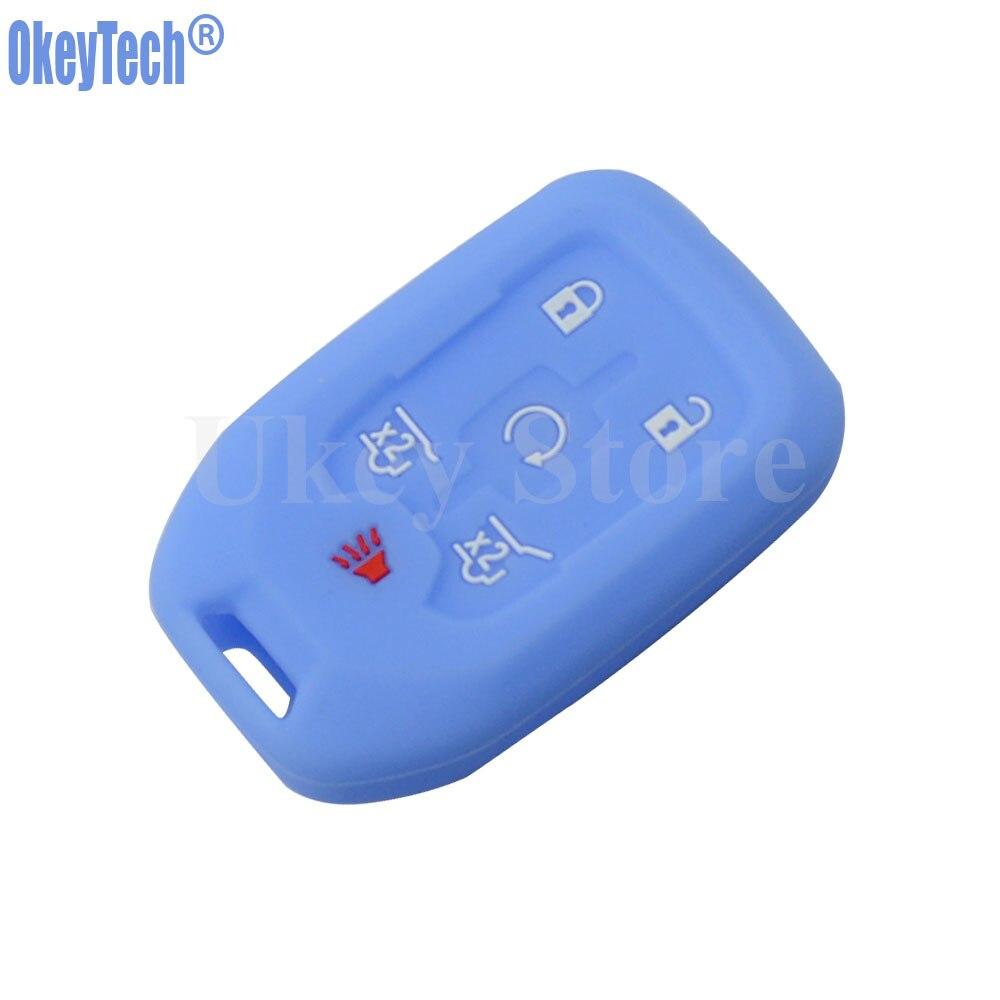 Silicone remote key cover Skin protector For 14-16 Chevrolet Silverado and Gmc