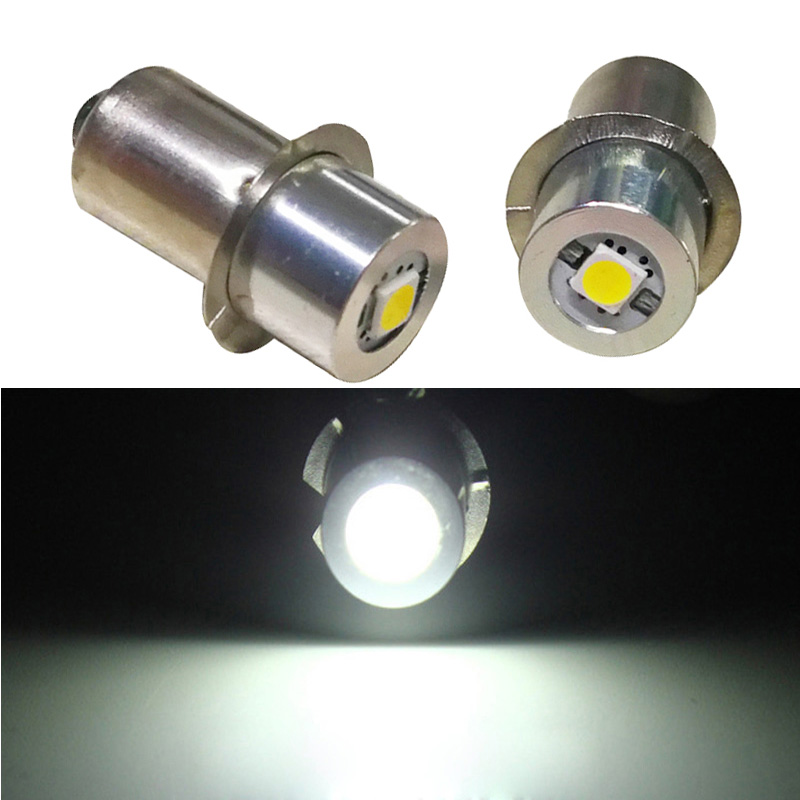 E10 P13.5S E10 1W 0.5W LED Flashlight Bulb 3V 6V 12V Led Bulb Replacement Flashlight Torch Light Bulb Emergency Work Light Lamp
