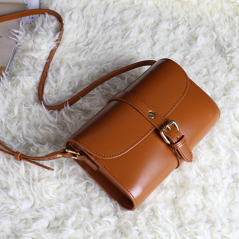 Women Shoulder Bags Fashion Cow Leather Messenger Bags Ladies Genuine Leather Handbags Purse High Quality Oil Wax Of Cowhide Bag fashion matte retro women bags cow split leather bags women shoulder bag chain messenger bags