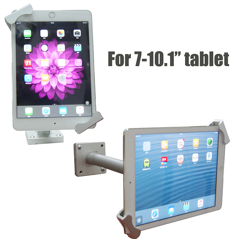 Планшеты блокировки безопасности IPad стенд гибкие Планшеты держатель замок с замочком Планшеты киоск рабочего стола защита от кражи для 7-10.1...