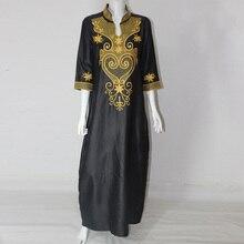 2016 Verano África Vestidos Para Mujeres Africano Bazin Vestidos Africanos Diseñadores de Moda Mujeres Ropa Africana