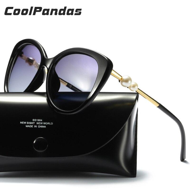 2018 Marque Star Style Perle Femelle lunettes de Soleil Polarisées Femmes Ronde Cat Eye Lunettes de Soleil Vintage En Plein Air Lunettes De Soleil Oculos de sol