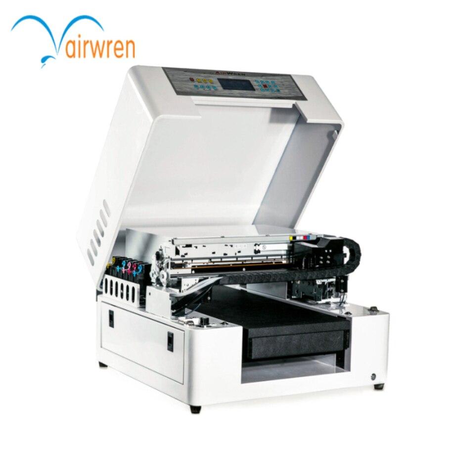 Petit uv 3d imprimante numérique cellulaire cas de téléphone à plat uv imprimante