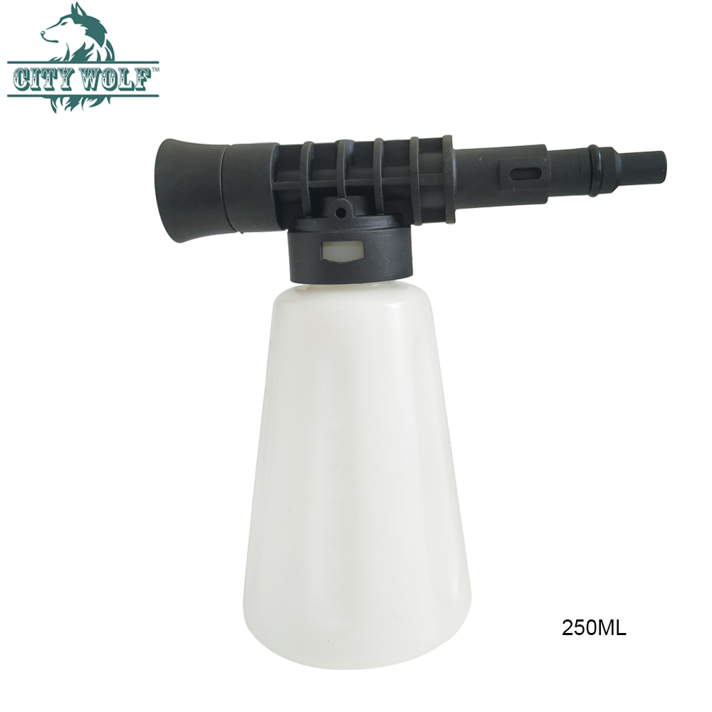 City Wolf Soap Bottle Snow Foam Cannon For Lavor Huter Sterwin High Pressure Washer  House Garden  Car Cleaning Accessories