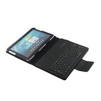 מקלדת Bluetooth אלחוטית נשלפת עם Tablet Case עבור Samsung Galaxy Tab 2 10.1 P5100 P5110 פריסת שפת אנגלית רוסית