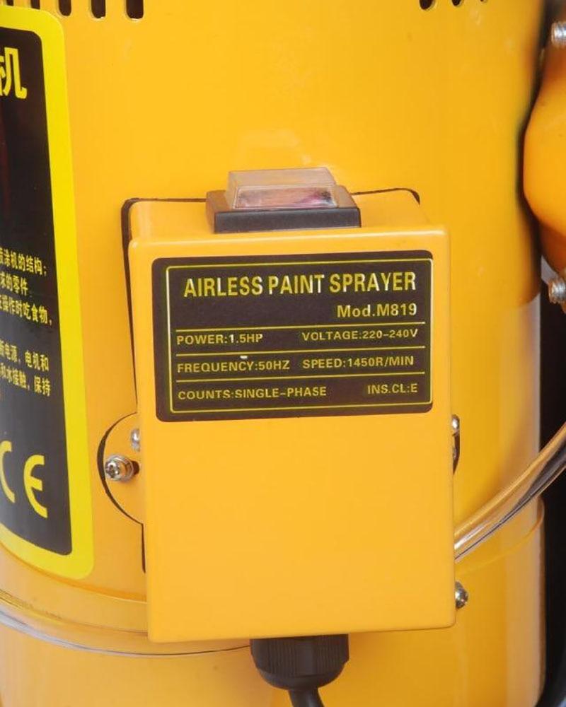 Pistola pulverizadora eléctrica Pulverizador de pintura Neumático - Juegos de herramientas - foto 3