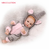 12inch 25CM hot premie newborn sweet small real soft gentle touch reborn baby doll popular Christmas gift for children