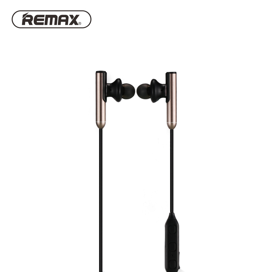 REMAX RB-S9 Wireless Bluetooth Earphone V4.1 in-ear Neckband Sport earphone Noise Cancelling earbud with MIC for Mobile Phone raxfly earphone for iphone xiaomi samsung huawei 3 5mm mobile phone in ear clear music earphone noise cancel earbud microphone