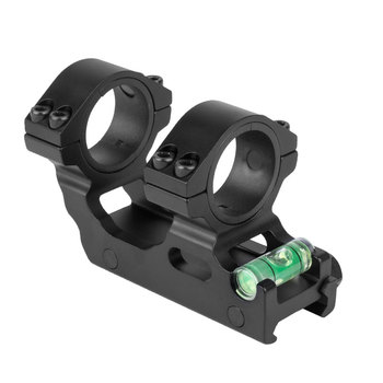 WESTHUNTER Compact One Piece Picatinny Rail Scope Mounts Weaver 25.4mm/30mm Tactical Scope Double Rings With Bubble Level