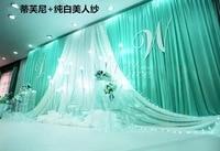 Экспресс Бесплатная доставка 3x6mtr Свадебные декораций украшения романтический индивидуальный дизайн свадебные, фотографии Задний план