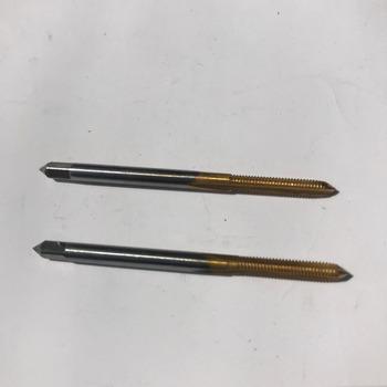Darmowa wysyłka 2 sztuk HSS6542 wykonane M2-M6 pełna CNC szlifowane cyny maszyna do powlekania prosto flet krany śrubowe krany do metalowe threadin tanie i dobre opinie Stali stopowej Prawo 2PCS Dotknij NoEnName_Null Obróbka metali VD-T DTM2-M6HSS6542 HSS TAP hss 6542 M2-M8 For iron aluminum copper wood plastic opening