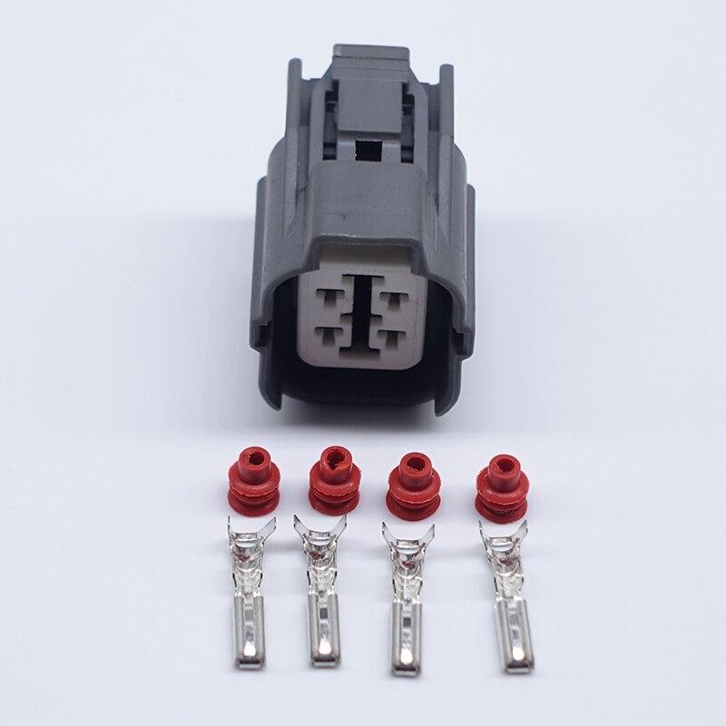 CNKF 5 Sets CNKF Sumitomo HW Sealed Series O2 Sensor 4P female Connector 6189-0132