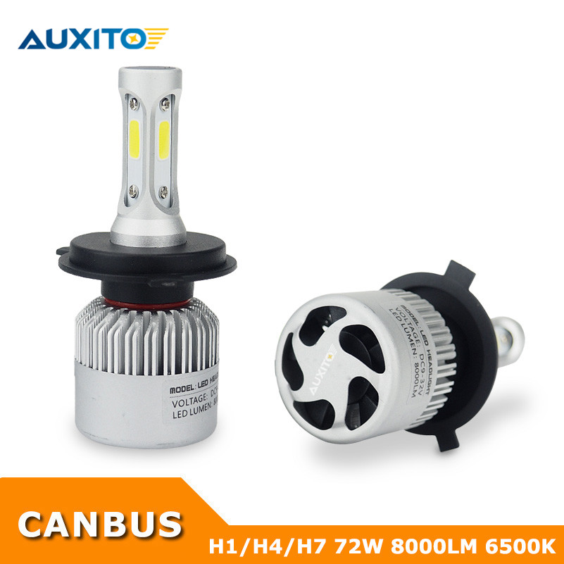 For Mercedes W211 W203 W204 W124 W210 W202 W212 CLA W205 AMG H7 H4 9003 H1 LED Headlight CANBUS Hi-lo Beam Car Headlights Bulbs