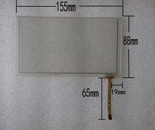 6.2 pulgadas de pantalla táctil pantalla táctil zcr-1582r1