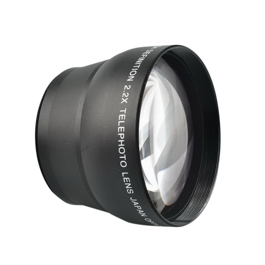 все цены на 58mm 2.2X Magnification Telephoto Tele Converter Lens for Canon DSLR Camera онлайн