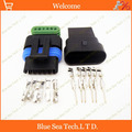 Probe  2 sätze 6 Pin male & female Sensor stecker für Delphi  Auto Sensor steckverbinder für VW  BMW  Toyata etc.|connector fme|connector fpcconnector utp -