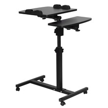 Adjustable Portable Laptop Table Lap Sofa Bed Tray 360 Degrees Roating Notebook Desk Multi Functional Ergonomic Computer Stand