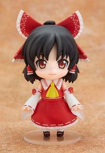 Image 4 - New Arrival 10cm Anime Action Figure Touhou Project Cartoon Hakurei Reimu 74# PVC Model Collection Cute 4 Mini Doll 1/10 Scale