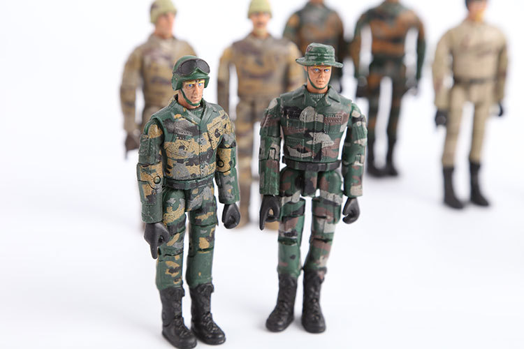 Best Toy And Model Soldiers For Kids : Starz army navy airman soldier military models pvc action